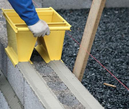 Цементный блок своими руками видео 117