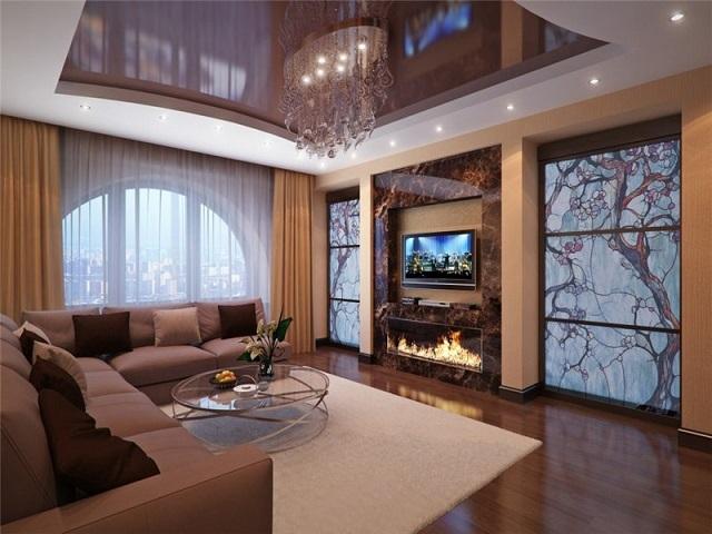 Фото квартир дизайн с аквариумом